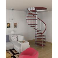 Interior stainless steel wood staircase design Manufactures