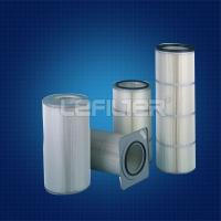 China PTFE membrane filter cartridges air filtration dust collector on sale