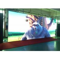 HD Iron Cabinet Indoor Fixed LED Display P4 / Simple Housing Led Video Wall