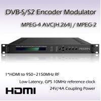 HD-SDI TO DVB-S/S2 Encoding Modulator RF(950~2150MHz) or IF(50~200MHz) Output REM7001 Manufactures