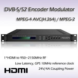 HD-SDI TO DVB-S/S2 Encoding Modulator RF(950~2150MHz) or IF(50~200MHz) Output REM7001 Manufactures