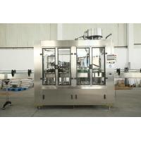 Automatic 3 In 1 Complete Bottled Water Production Lines For Soda / Cola