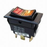 Rocker Switch with Matte Plastic Housing Manufactures
