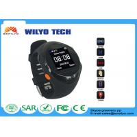 Black GP88 Gsm Gps Tracking Watch Cell Phone Wrist Watch Mp3 SOS Manufactures