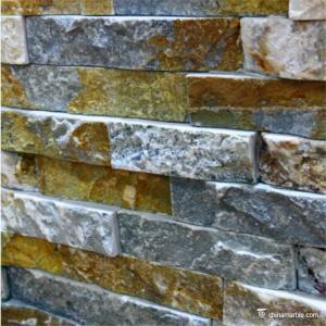 Slate Culture Stone Natural stone Limestone Stone Wall Rockface Cladding CS-119 Manufactures