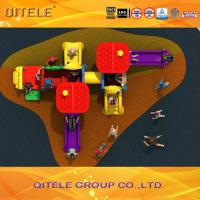 Quality Commercial Kids Play Equipment , Plastic Play Equipment For Toddlers for sale