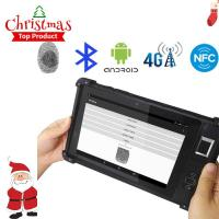 FP08 New China arrival Windows10 Color Display One Dimension Code Handheld Terminal FP08 Manufactures