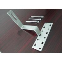 Strong Resistance Solar Mounting Accessories OEM Panel Frame for PV Solar Cells Manufactures