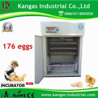 CE Approved! Small Incubator for 176 Quail Eggs Bird Hatcher (KP-4) Manufactures