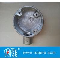 "3/4"" Malleable Iron Electrical Circular Junction Boxes Manufactures"