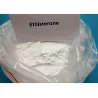 White Raw Steroid Powder Ethisterone For Uterine Bleeding CAS 434-03-7 Manufactures