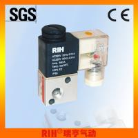 Buy cheap 3 way 2 position pneumatic air direct acting Solenoid Valves 1/8'' DC24V/AC220V from wholesalers