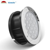 China RGB Underwater Led Spotlights , 24W 24V Led Spot Lighting SS316L Adjust Angle Pool Light on sale