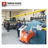 China Price Gas Oil Fired Industrial Thermal Oil Heater Boiler For Plastic Factory Manufactures