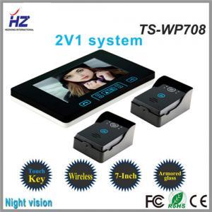 China 7 inch color doorphone video door phone for video intercom on sale