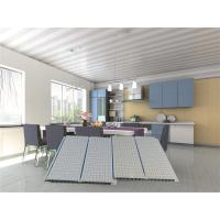 Lightweight Hollow Plastic PVC Ceiling Panels For Kitchen False Roof Manufactures