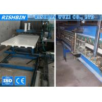 China Hydraulic Decoiler Discontinuous Polyurethane Sandwich Panel Machine Line for Roof on sale