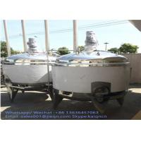 Inox Stainless Steel Liquid Storage Tanks For Food Chemistry Industry Manufactures