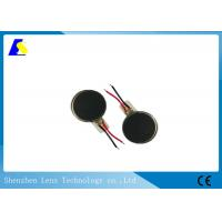 Beauty Electric Small Coin Vibration Motor , Micro Pager Motors Brush Commutation Manufactures