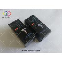 Quality CMYK printing hologram finished packing for 30ml 15ml 10ml dropper paper box for sale
