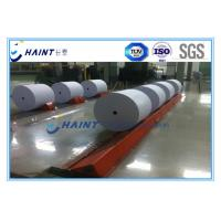 Mechanical Paper Roll Handling Systems Customized Model For Paper Reel Manufactures