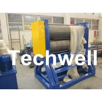 China Decoiler - Embossing - Tension - Recoiler, Steel Coil Embossing Machine With 20m/min Speed on sale