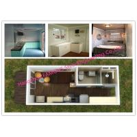 China Portable Prefab Container Homes With Interior Decorations Bedroom / Bathroom / Kitchen / Washbasin on sale