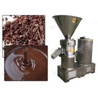 Manual Cocoa Bean Grinding Machine / Cacao Nib Grinder Colloid Mill Factory Price