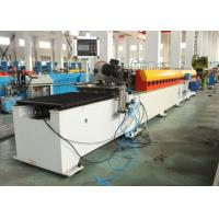 8-10m/min Galvanized Steel Octagon Pipe Roll Forming Machine With PLC Control Manufactures