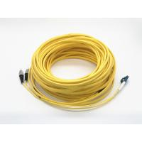 Quality Duplex Ruggedized Optical Patch Cord Lc To Fc 25 Meters Long Single Mode for sale