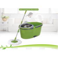 6.5L Capacity Flat  360 Spin Mop For Hardwood Floors With Single Bucket Manufactures