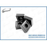 Quality Lathe Machine Tungsten Carbide Cutting Tips / OEM Tungsten Cutting Tools for sale