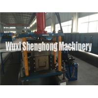 China Modernized U / J Channel Roll Forming Machine Pre Punch Operation on sale