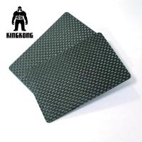 Carbon Fibre Gift Pvc Identity Card Silkscreen Printed Logo Customised Manufactures