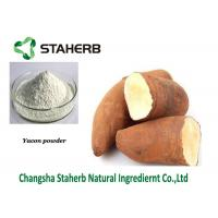 Quality Dehydrated fruit powder Yacon Extract Powder Fructooligosaccharide Liver Protect for sale