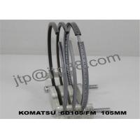 Stainless Steel Piston Rings 6D125 / Small Piston Rings 6137-31-2040 Manufactures