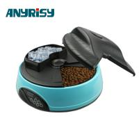 China Voice Reminding Automatic Pet Feeder Backup Battery Supply Pet Bowls on sale