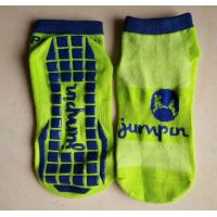 Super Tramp Spring Time Trampoline Grip Socks Silicon Anti - Slip With Cushioned Foot Manufactures