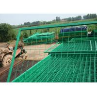 PVC Coated Wire Mesh Fence Metal Security Fencing High Strength And Durability Manufactures
