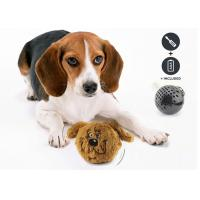 Interactive Shaking Bouncy Plastic Dog Balls Auto Bounce / Squeak For Entertaining Manufactures