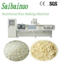 Jinan Saibainuo Automatic Nutritional Instant Artificial Rice Making Machine Manufactures