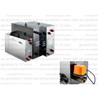 Supper duty Steam Bath Generator 400V 24kw with 2 steam diffusers for showers Manufactures