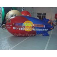 0.18mm PVC Inflatable Helium Zeppelin / Blimp Balloon For Anniversary Event Manufactures