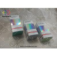 10ML Steroids Packaging Medicine Paper Box Vial Glass Boxes Custom Printing Logo Manufactures