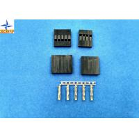 No Breakdown 2.54mm Pitch Wire To Board Connector One Row Tin-Plated / Gold-Flash Contact Manufactures