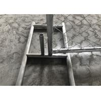 China 8'x12' Outer tubing 38mm 1½ tubing sold plastic temporary fence panels Spacing 2¼x2¼(57mmx57mm) x 3.00mm on sale