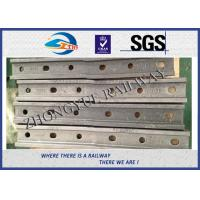 6 Holes 132RE 136RE Railway Fish Plate Rail Joint Bars With Plain Colors Manufactures
