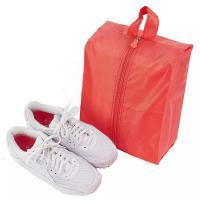Mesh Small Portable Shoe Bag Red Color Multiple Practical Household Dustproof Manufactures