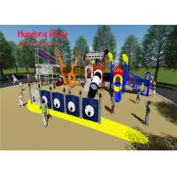 Customized Child Plastic Outdoor Playground Slide Theme Park Equipment Manufactures