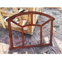 Quality Industrial Style Cast Iron Windows Frame For Usw Mirror Wall Art H48xW62.5CM for sale
